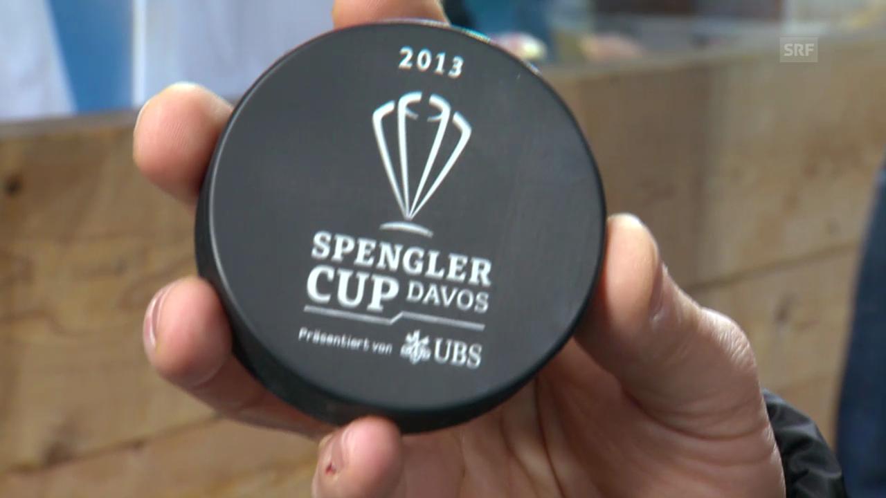 Eishockey: Spengler Cup, «Achtung, fertig, Salzi» («sportlive», 31.12.2013)