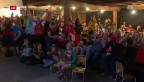 Video «Freude herrscht über Schweizer Resultat» abspielen