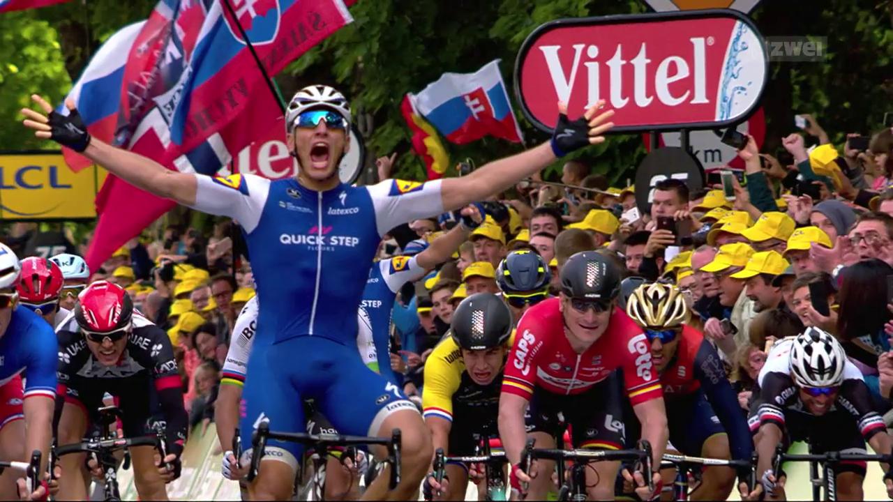 Kittel sprintet in Lüttich zum Sieg