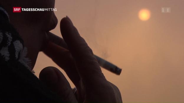 Video «Bundesrat blitzt mit Gesetz über Tabakprodukte ab» abspielen