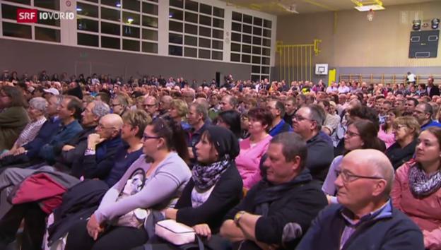 Video «Knatsch um Bundes-Asylzentrum in Giffers» abspielen