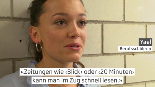 Video «Schlagzeilen zur Zuwanderung – 17-Jährige reden Klartext» abspielen