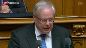 Video «Präsident des Gerichtshofs für Menschenrechte in Bundesbern» abspielen