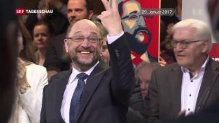 Video «Über die Nachhaltigkeit des SPD-Kandidaten Schulz» abspielen