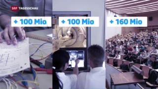 Video «Mehr Geld für die Bildung» abspielen
