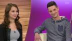 Video «Miss & Mister Handicap: Die zwei Sieger im Studio» abspielen