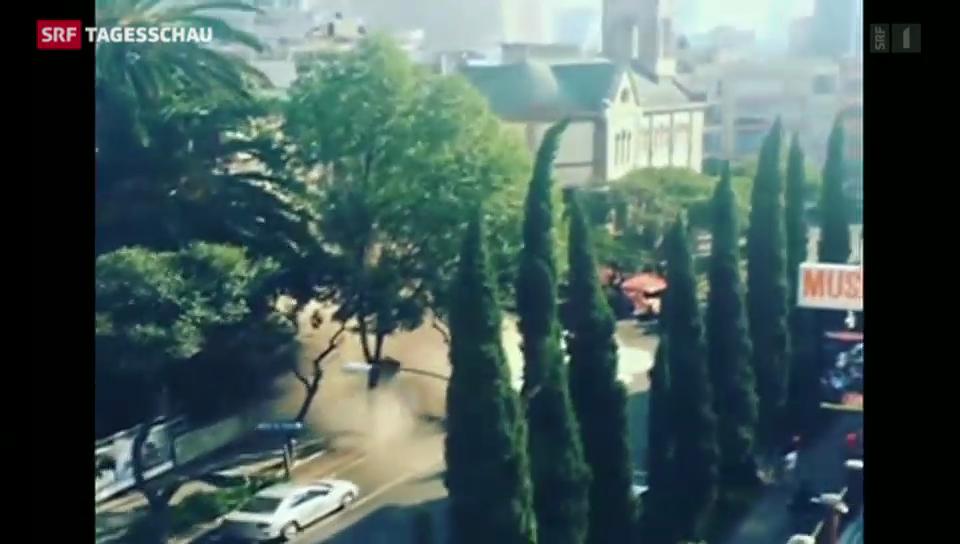 Dreissig Sekunden Erschütterung in Mexiko