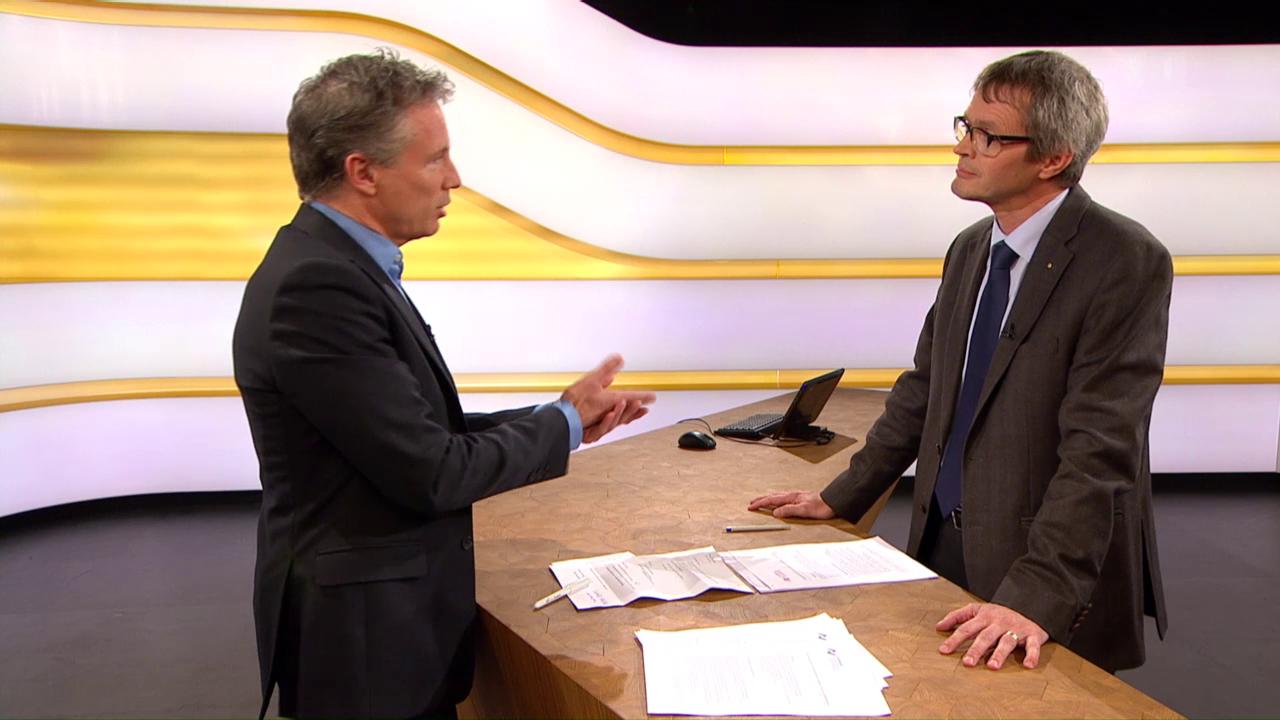 Studiogespräch mit Pius Zängerle, Direktor Curafutura