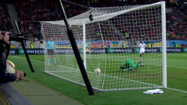 Video «Spielzusammenfassung Schachtar - Sevilla» abspielen