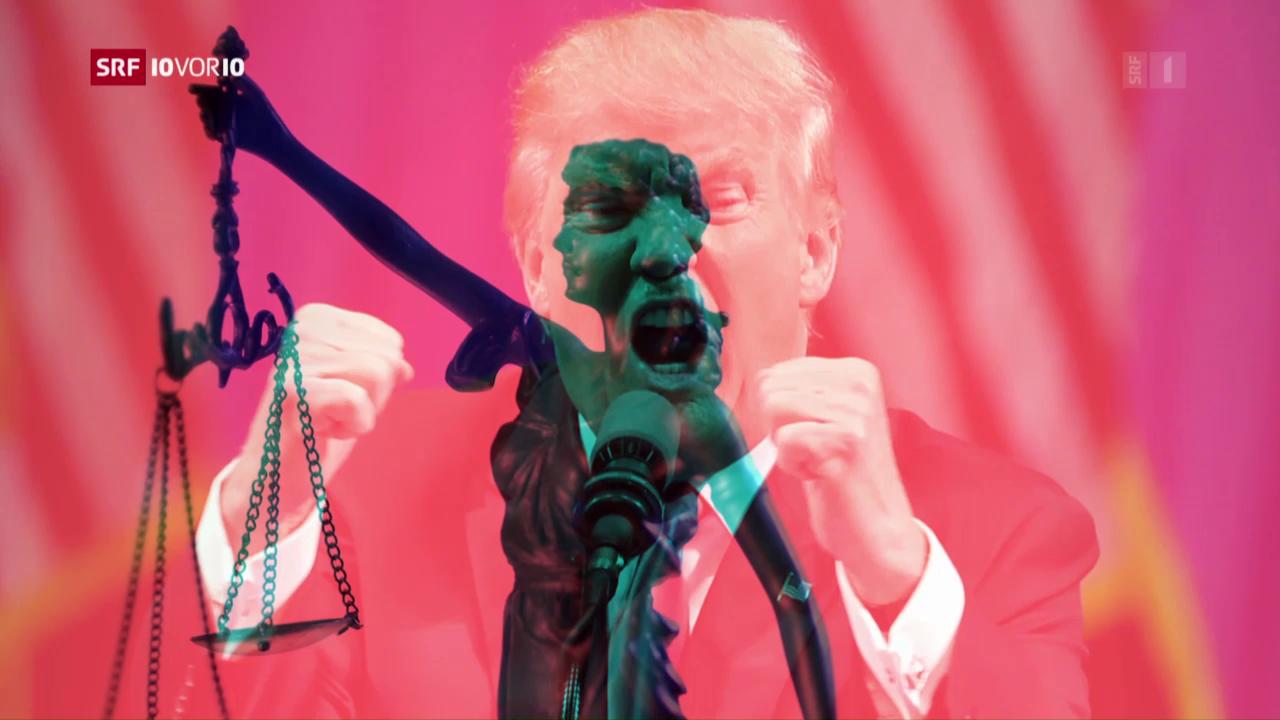 Trump fordert den Rechtsstaat heraus