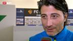 Video «FC Basel nach dem Sieg gegen Zenit» abspielen