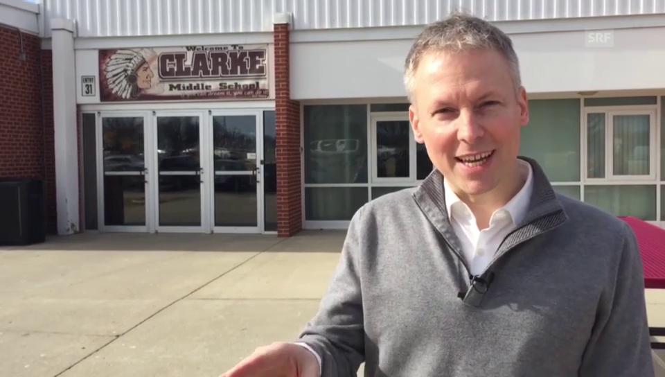 SRF-Korrespondent von Grünigen berichtet aus Iowa