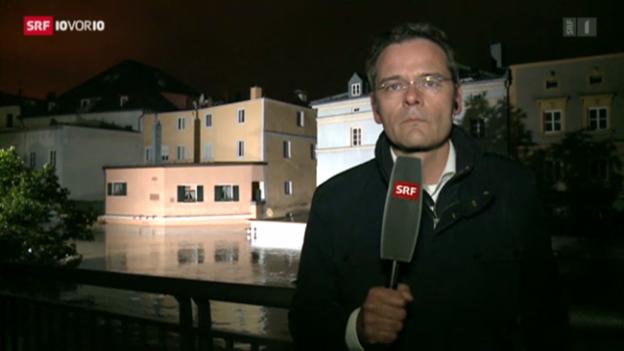 Video ««Man hat grosse Angst» (SRF-Korrespondent Stefan Reinhart)» abspielen