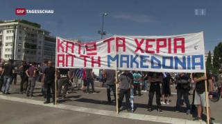 Video «Griechenland Mazedonien» abspielen