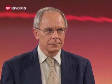 Studiogast: Josef Sachs, forensischer Psychiater