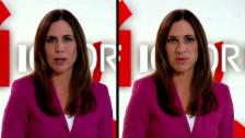 Link öffnet eine Lightbox. Video «Deep Fake»: Die beiden 10vor10-Moderatorinnen tauschen die Gesichter abspielen