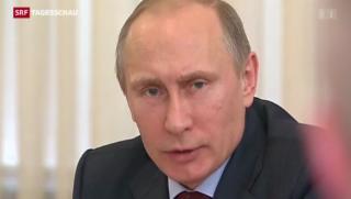 Video «Putins Aussagen beunruhigen in Ukraine» abspielen