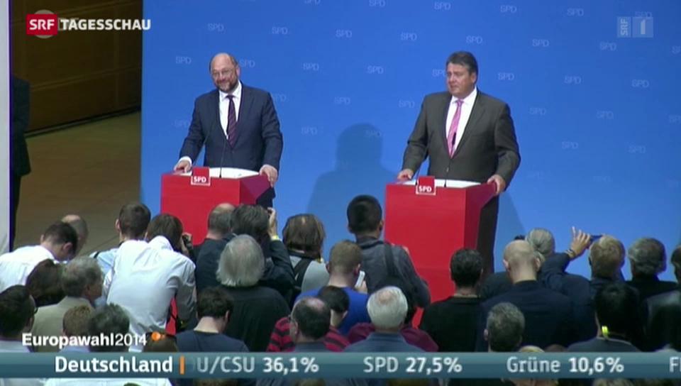 SPD legt in Deutschland zu