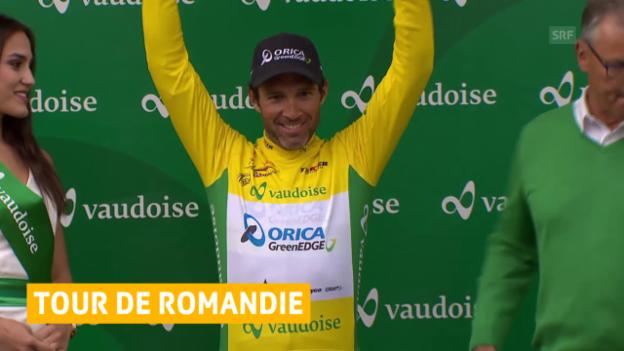 Video «Rad: Tour de Romandie, 2. Etappe» abspielen