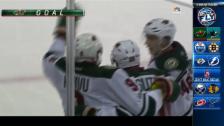 Video «Minnesota schafft mit 3 Toren in 5 Minuten die Wende» abspielen