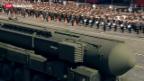 Video «Russland feiert Sieg über Nazi-Deutschland» abspielen