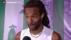 Video «Nadal scheidet bei Wimbledon aus» abspielen