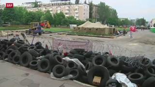 Video «Kiew setzt auf eine militärische Lösung» abspielen