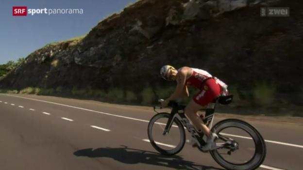 Video «Triathlon: Hawaii-Triumph für Daniela Ryf» abspielen