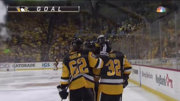Video «Penguins fegen Senators vom Eis» abspielen