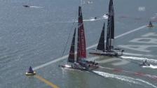 Video «Segeln: Die Spannung ist zurück im America's Cup («tagesschau»)» abspielen