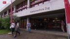 Video «Kanton Zug will an den Kantonsschulen sparen» abspielen