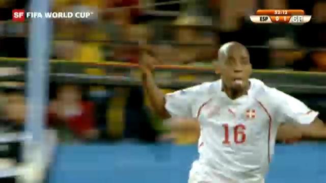 WM 2010: Spanien - Schweiz