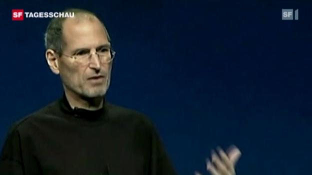 Video «Welt trauert um Steve Jobs» abspielen