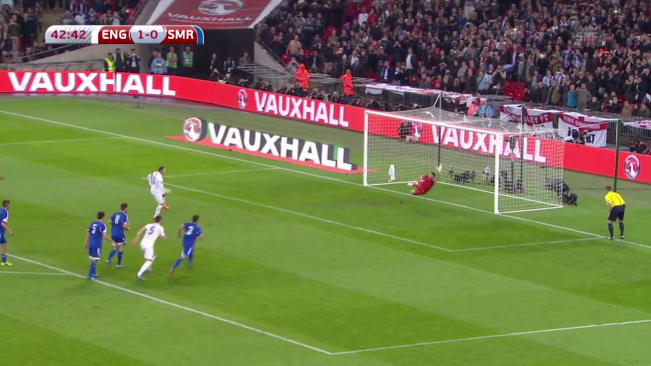 Fussball: Zusammenfassung England - San Marino