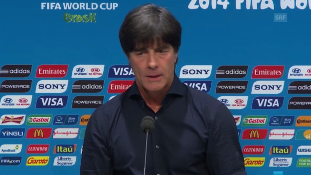 Video «Joachim Löw: Auszüge aus der Pressekonferenz» abspielen