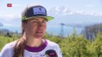 Video «Skifahrerin Fabienne Suter beendet ihre Karriere» abspielen