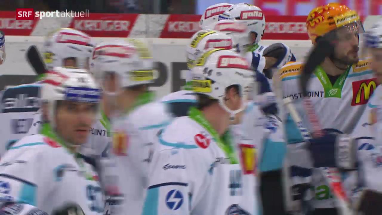 Eishockey: NLA, Kloten Flyers - Rapperswil-Jona Lakers