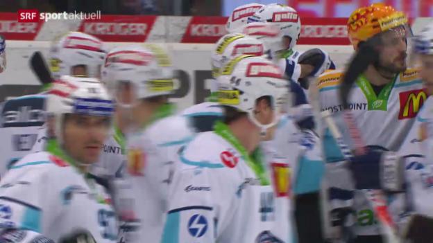 Video «Eishockey: NLA, Kloten Flyers - Rapperswil-Jona Lakers» abspielen