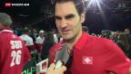 Video «Wawrinkas «unglaubliche Leistung», Federers Sieg «am Limit»» abspielen