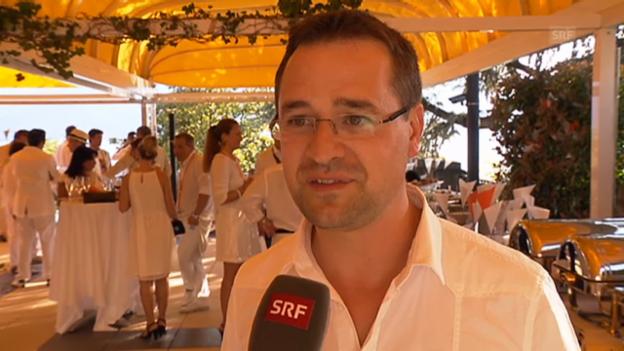Video «Mathieu Jaton über das erste Montreux Jazz Festival unter seiner Leitung» abspielen