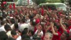 Video «Militär gesteht Niederlage in Burma ein» abspielen