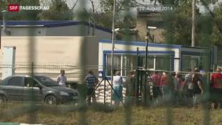 Video «Gewalt in der Ostukraine trotz Gesprächen auf höchster Ebene» abspielen