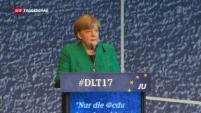 Video «CDU und CSU ringen um Koalition» abspielen