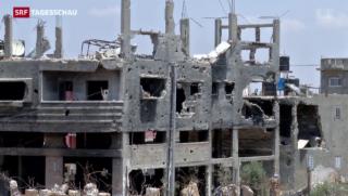 Video «Ein Jahr nach Gaza-Krieg» abspielen