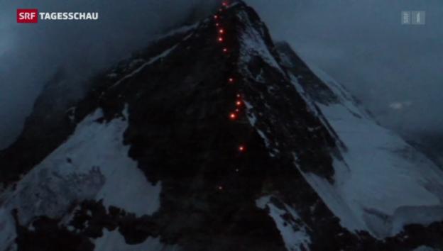 Video «Erleuchtetes Matterhorn» abspielen