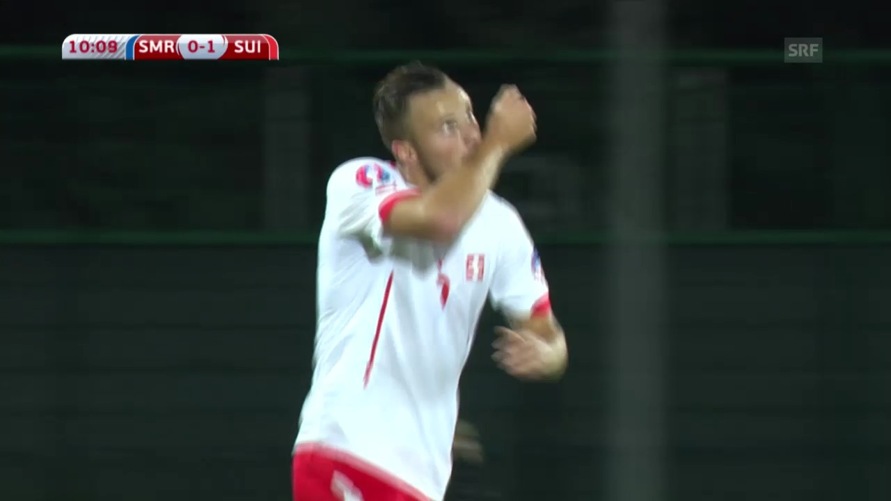 Fussball: EM-Qualifikation, San Marino - Schweiz