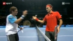 Video «ATP World Tour Finals in London» abspielen