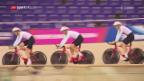 Video «Das Schweizer Bahnradteam vor den European Championships» abspielen