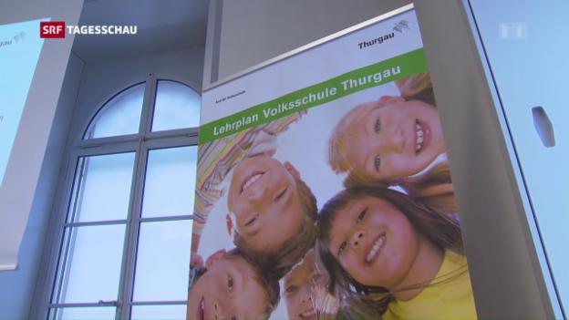 Video «Kanton Thurgau will kein Frühfranzösisch in der Primarschule» abspielen