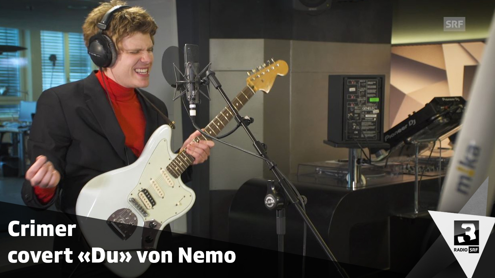 Crimer covert «Du» von Nemo – SRF 3 Live Session